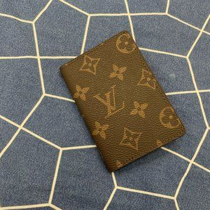 Foldable Wallet with Classic Pattern